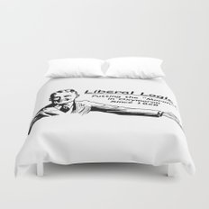 """Liberal Logic: Putting the """"Moron"""" in Oxymoron Since 1828 Duvet Cover"""