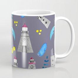 Romantic lighthouse // flowers and lighthouse Coffee Mug