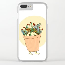 Potted Pal Clear iPhone Case