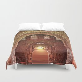 ORNATE ARCHWAY Duvet Cover