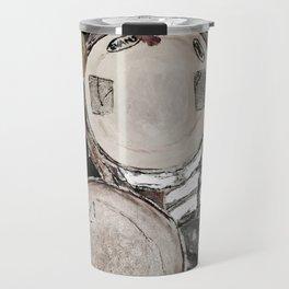 drum set, ready to rock Travel Mug