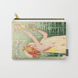 Belle Epoque vintage poster, drink Carry-All Pouch