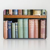 library iPad Cases featuring Library Wisdom by Jean Ladzinski