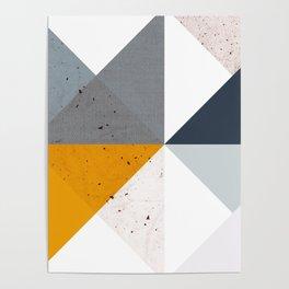 Modern Geometric 17/2 Poster