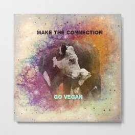 Make The Connection Metal Print