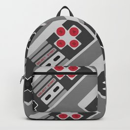 Retro Video Game Pattern Backpack