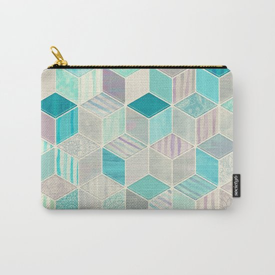 Vacation Patchwork Carry-All Pouch