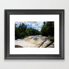 Tahquamenon Falls Framed Art Print