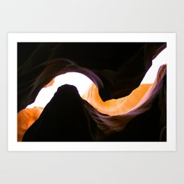 ANTELOPE CANYON Art Print