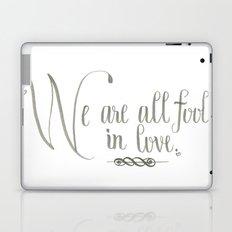 Fools In Love Laptop & iPad Skin