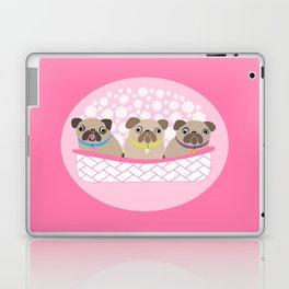 Bouquet of dogs Laptop & iPad Skin