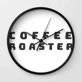 coffee roaster Wall Clock