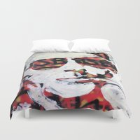 bats Duvet Covers featuring Bats by Matt Pecson