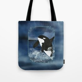 Killer Whale Orca Tote Bag