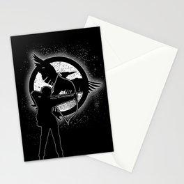 The Mockingjay. Stationery Cards