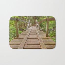 Forest Track Bridge Bath Mat