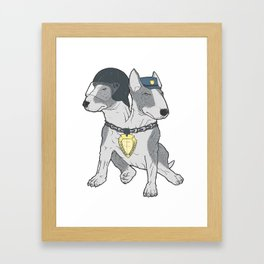 Polizei Framed Art Print