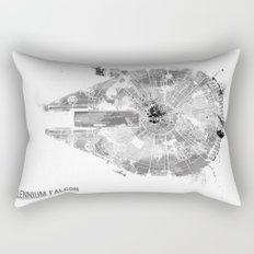 Star Wars Vehicle Millennium Falcon Rectangular Pillow