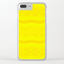 September Curves (Citrus) Clear iPhone Case