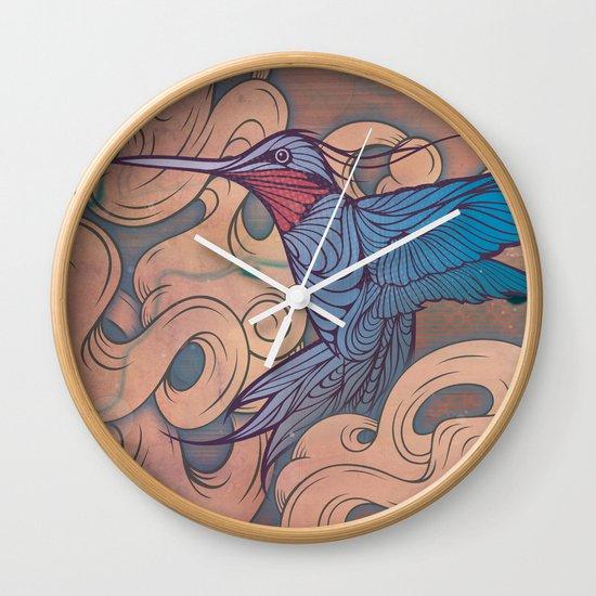 The Aerialist Wall Clock