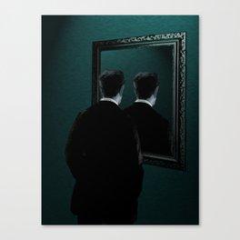 Into the mirror  Canvas Print