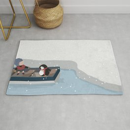 Reaching the South Pole Rug