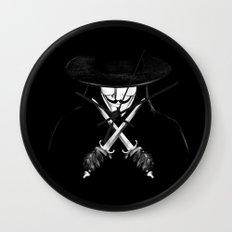 V for Vendetta (e7) Wall Clock