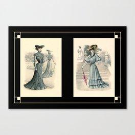 Victorian Dress 7 Canvas Print