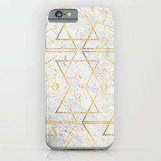 wire gOld triangle iPhone 6 Slim Case