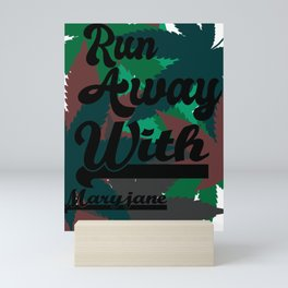 Run Away Mini Art Print