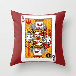 King of Toys Throw Pillow