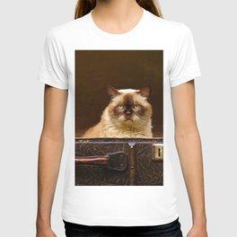 Luggage Cat T-shirt
