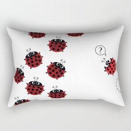 The path to Spring Rectangular Pillow