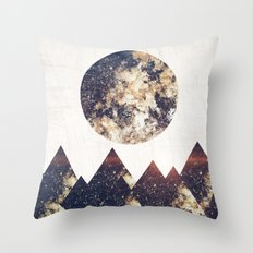 moon children Throw Pillow