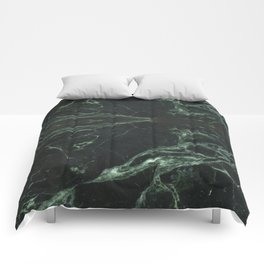Green Marble, lightly veined Comforters