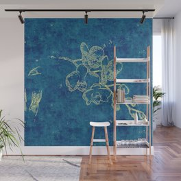 Lucinda's Orchid Wall Mural