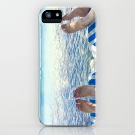 Lovers Toes over Key Largo iPhone Case