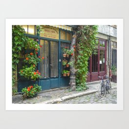 Paris Passage Art Print