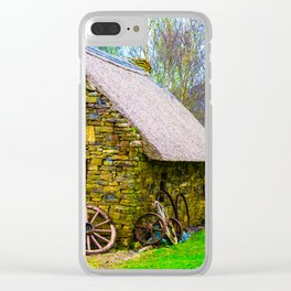 The Thatched Bog Clear iPhone Case