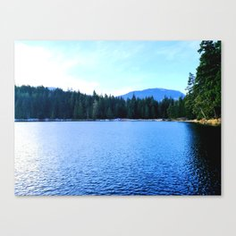 Bluest of blues Canvas Print