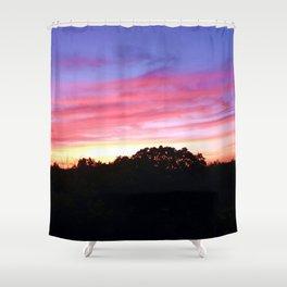 Wisconsin Sunset Shower Curtain