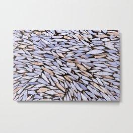 Mosaic Marble Metal Print