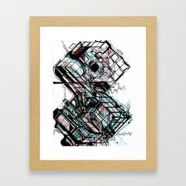 The Pilot. The Fool. The Grenadier  Framed Art Print
