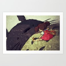 Always Me and You Art Print