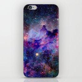 Galaxy Universe Stars iPhone Skin