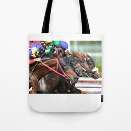 Four-wide at Gulfstream Tote Bag
