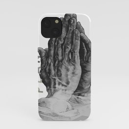 Pray for God's plan iPhone Case