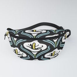 Calla Lily Pattern Fanny Pack