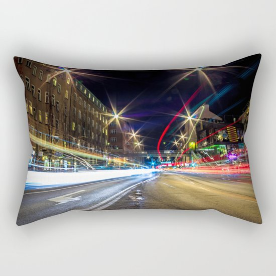 Light Trails 2 Rectangular Pillow