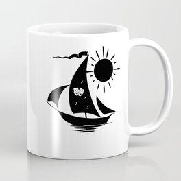 Lazy Day Theater Sailboat Coffee Mug